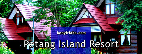 petang island resort kenyir lake tasik kenyir terengganu malaysia